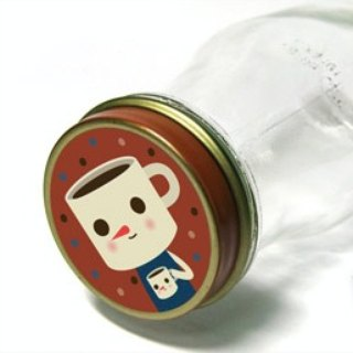 & Cabinet Round Stickers - Drinky Doll