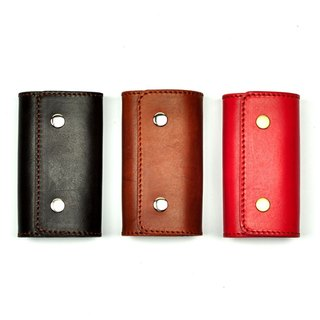 [DOZI leather hand-made] key bag four hook deduction leather for dyeing production free color