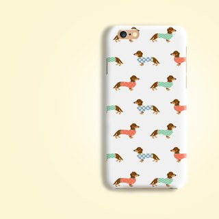 Dachshund Shadow Matt finishes hard Phone Case  iPhone X 8 8 plus 7 7+ LG G6 V30