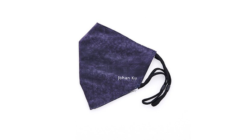Johan Ku Mask - 001_The Hole_01-蠶絲內裡布口罩/口罩套