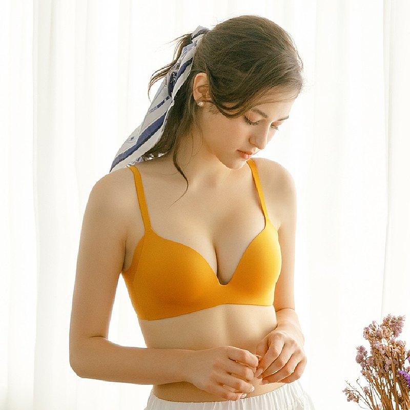 Olivia【曖昧系列-冰淇淋戀人】無鋼圈飽和純度PLUS+一片式內衣
