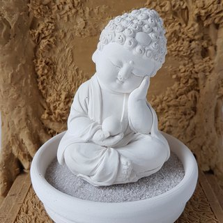 Miniature Small meditation Buddha 180701 Zen/Fairy Garden Supplies DIY Accessory
