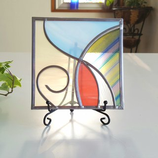 "Iron stand decoration art ""Spring breeze 3"""