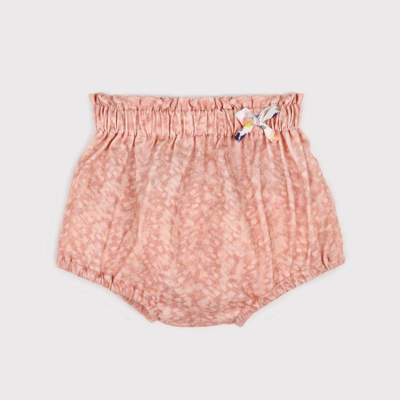 小蝴蝶屁屁褲 - 粉色豹紋