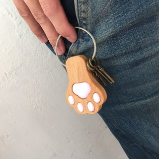 (Limited) Key chain paw <short version><Taiwan crypress>