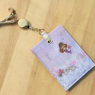 Japanese ticket clip fairy tale series Little Mermaid (straight open)