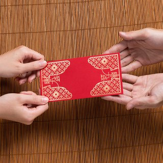 Reciprocal red envelope bag -6 into