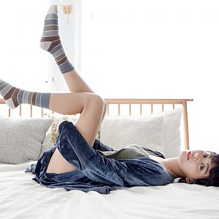 Women's Cotton Socks with Polygiene, Odorless-British Design for Stylish Ladies