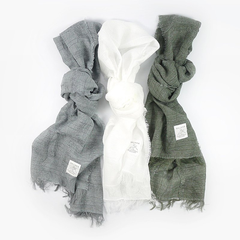 [Mother's Day gift] Maruma, Japan│ Birds and beasts and paper gauze thin scarf