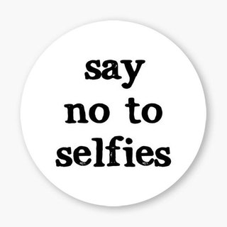 Snupped Ceramic Coaster - Say No To Selfies
