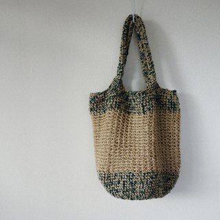 Big shoulder bag(green)