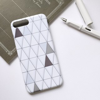 Triangle phone shell hard shell iPhone Android