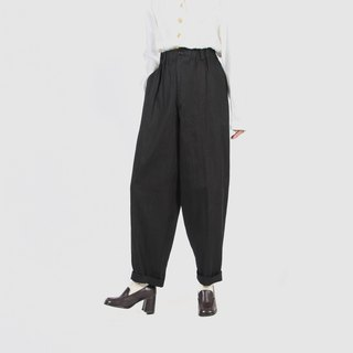 [Egg Plant Vintage] Balloon Outline Specially Cut Wide Edition Vintage Pants