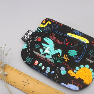 Ping Le Small Pack - Dinosaur Small Wallet, Double Sided
