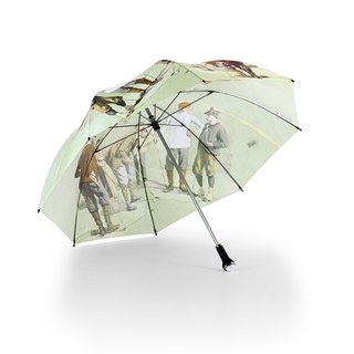 [Germany] Kobold Anti-UV Super Anti-Wind - Golf Umbrella - St. Andrew - Famous Paintings