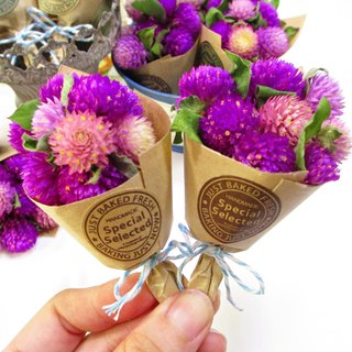 [Eternal Love - Palm Mini Bouquet] Amaranth Dry Flower