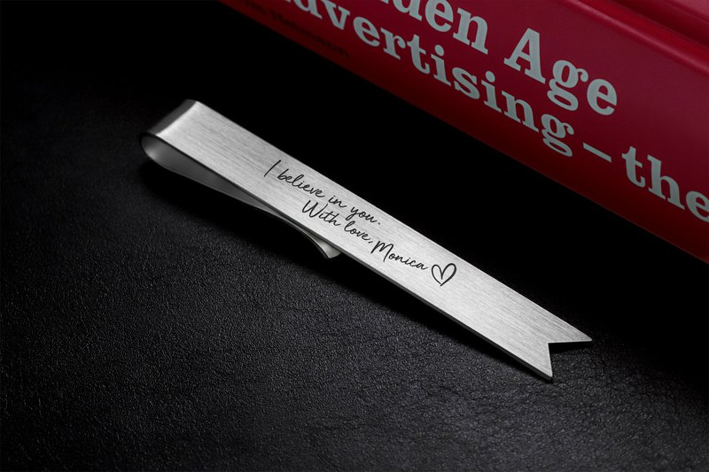 Custom Bookmark silver 925, Personalized Bookmark engraved with your handwriting