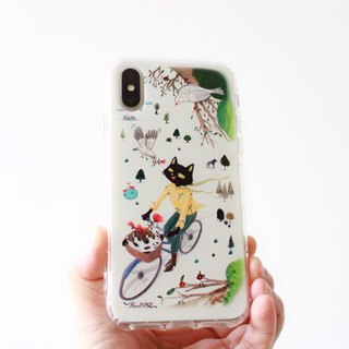 MissCatCat_ Slow Journey phone case _ iPhone, Samsung, HTC, LG, Sony