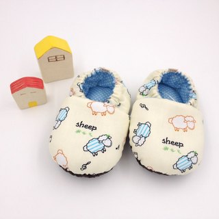 Laughing sheep - toddler shoes / baby shoes / baby shoes + single buckle sling clip