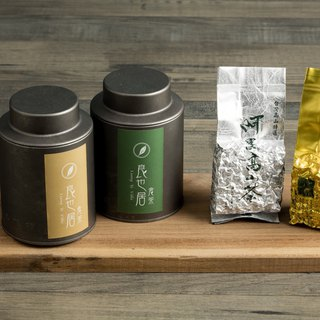Signature Alishan Tea Duet Loose Tea Caddy, 75g x 2 (OOLONG + JINXUAN)