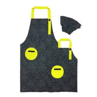 OGG Geometry Fun Fun Parenting Work Apron Raindrops