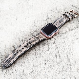 Apple Watch Straps 38mm 42mm, Hand-Stitched Handmade, Series 3 Series 2 Series 1