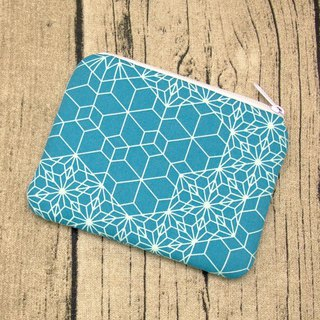 Zipper pouch / coin purse (padded) (ZS-248)