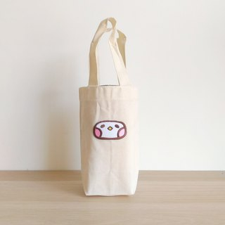 Canvas beverage bag