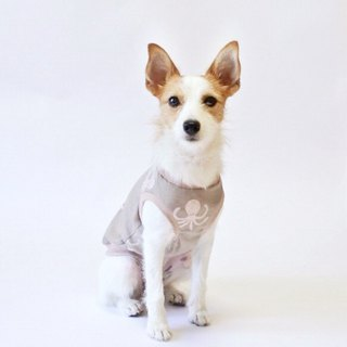 Cool-feel Materials Dog Shirt / Octopus