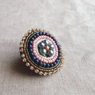 [Beads Embroidery] Circle Ring no.2