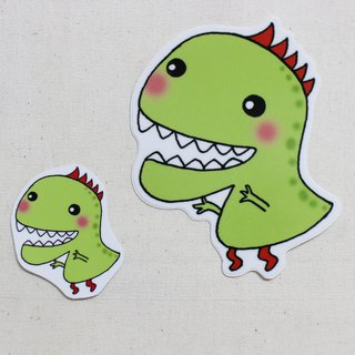 Waterproof sticker (large)_Little Dinosaur 07