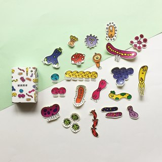 Bacterial meeting | sticker pack case