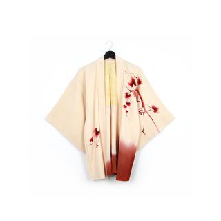 Back to Green-Japan brought back feather weaving ink/vintage kimono