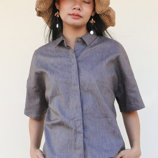 Mangkud Paper Shirt / Cotton Linen Hemp