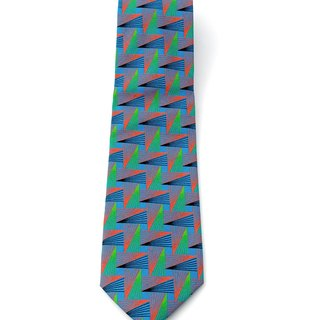 COLOURFUL GEOMETRIC TIE