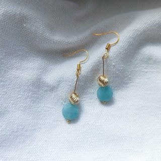 Hope Amazon Stone Earrings