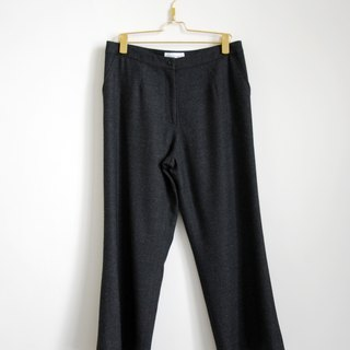 Pumpkin Vintage. Ancient woolen trousers