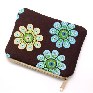 Zipper pouch / coin purse (padded) (ZS-191)