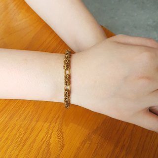 Link ◆ personality / brass / gorgeous / hand / bracelet gift