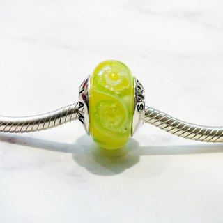 PANDORA/ Trollbeads / All major bead brands can be stringed * - Lemon yellow