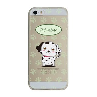 Custom Dalmatians transparent Samsung S5 S6 S7 note4 note5 iPhone 5 5s 6 6s 6 plus 7 7 plus ASUS HTC m9 Sony LG g4 g5 v10 phone shell mobile phone sets phone shell phonecase