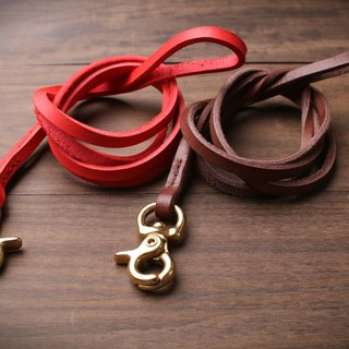 [NS handmade leather goods] ID card sling, mobile phone camera long sling