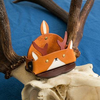 Animal Series - Business Card Holder / Mobile Phone Holder (Wide Edition - Deer)