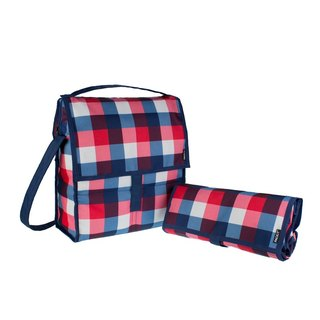 United States [PACKiT] Ice Cool Picnic Freezer Bag (English Grid) Ice Pack/Insulation Bag