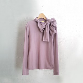 Ángeles-big girl-bow turtleneck top