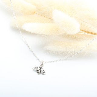 Bee Honeybee s925 sterling silver necklace Valentine's Day gift