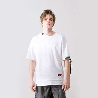 MENS ASYMMETRICAL T SHIRT