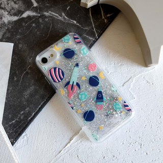 PATTERN LAB | Liquid Glitter Case for iPhone 6/6S/7/8 - Space