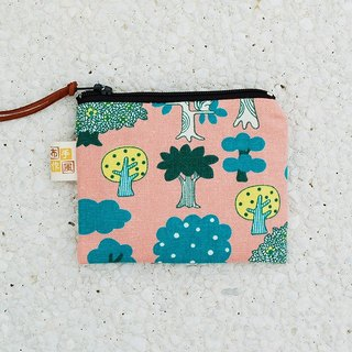 Small forest coin bag _ powder