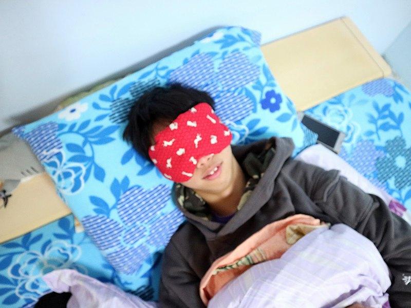 紅兔子紅豆溫敷眼罩 mask 可替換 調長短 電腦族手機族最佳保養眼睛方式
